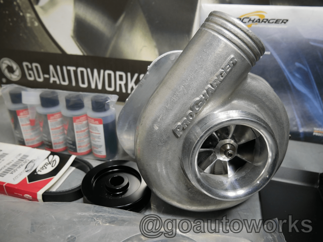 GO-AUTOWORKS B Series C1A Tuner Supercharger Kit-Low Boost