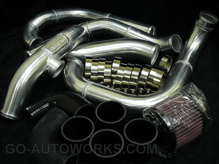 GO-AUTOWORKS Complete Charge Pipe Kit w/ intake
