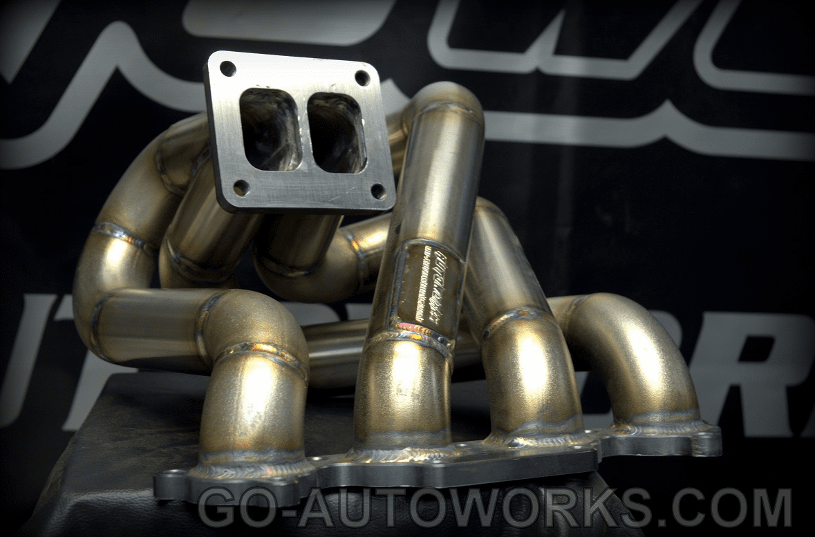 GO-AUTOWORKS Divided/Twin Scroll EFR Top Mount manifold