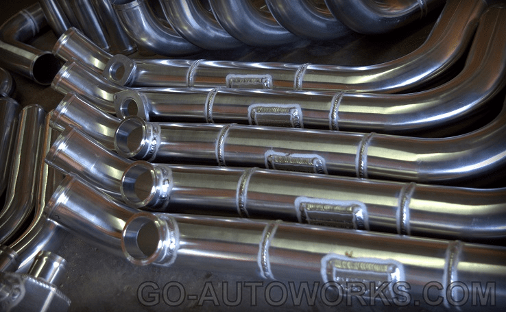 GO-AUTOWORKS Honda/Acura Upper Coldside Pipes