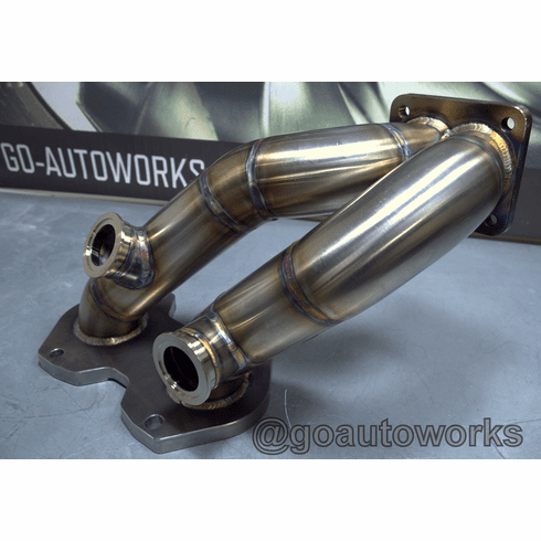 GO-AUTOWORKS Long Runner Turbo Manifold FD RX7 13B