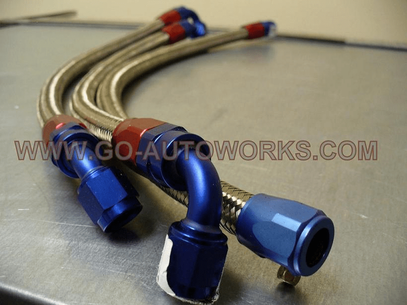 GO-AUTOWORKS Off Rail Regulator Line Kit Only
