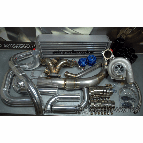 GO-AUTOWORKS RR Turbo kit 250-600hp A/C COMPATIBLE