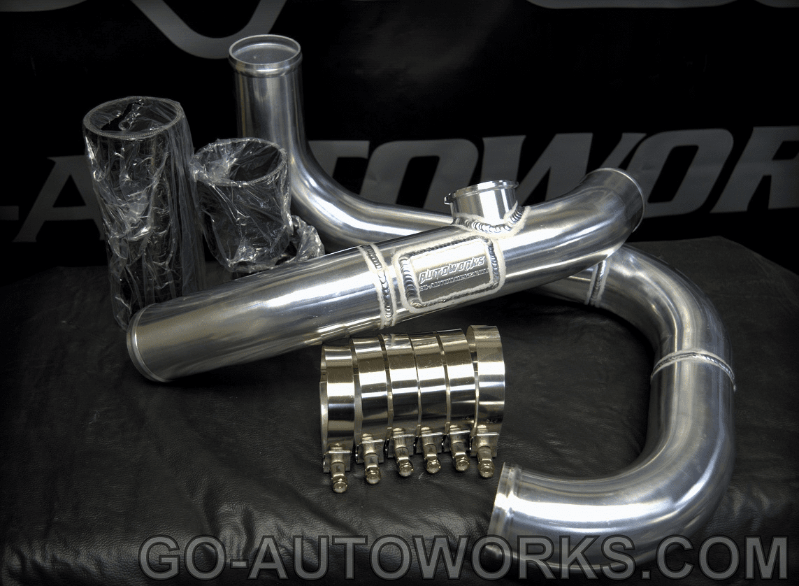 GO-AUTOWORKS S2000 Coldside Charge piping set