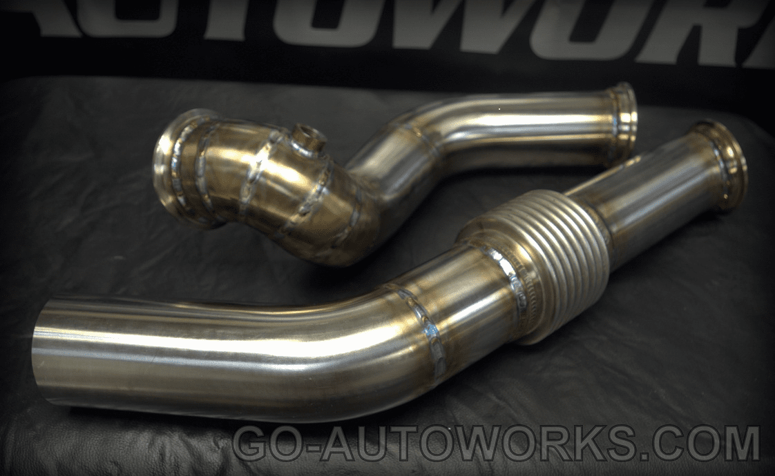 GO-AUTOWORKS S2000 FF Downpipe and Dumptube