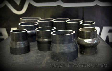 GO-AUTOWORKS Silicone ReinforcedMulti Ply Couplers