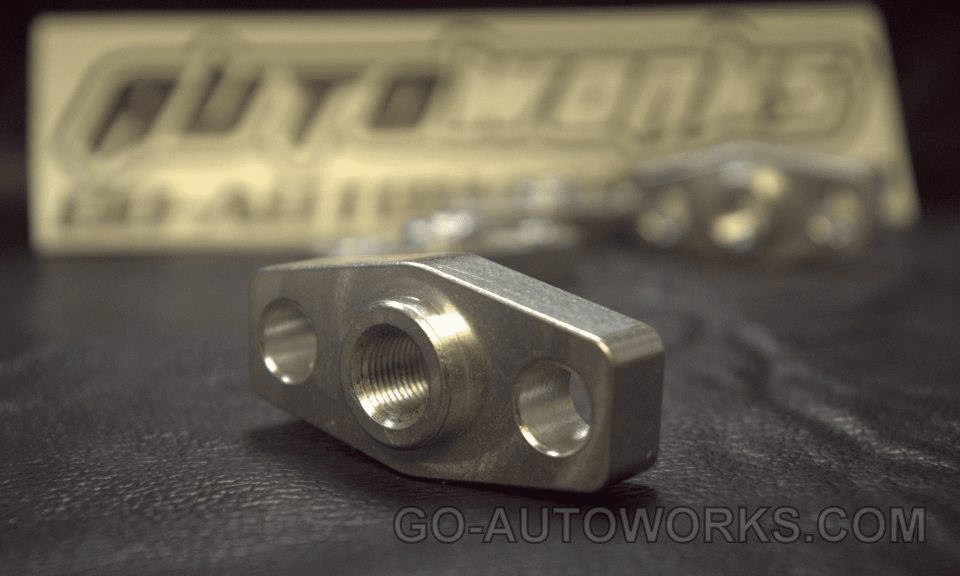 GO-AUTOWORKS T3 Oil Inlet flange