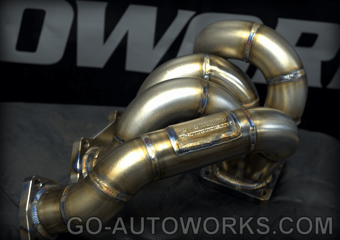 GO-AUTOWORKS T4 Bottom Mount Turbo Manifold B Series B16 B18 B20