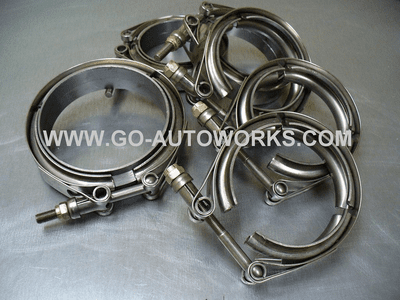 GO-AUTOWORKS V Band Flanges & Clamps