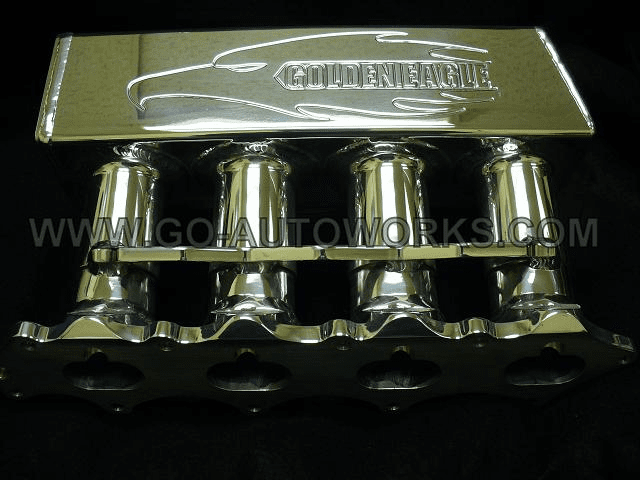 Golden Eagle Mfg Honda  Intake Manifold - Polished Finish