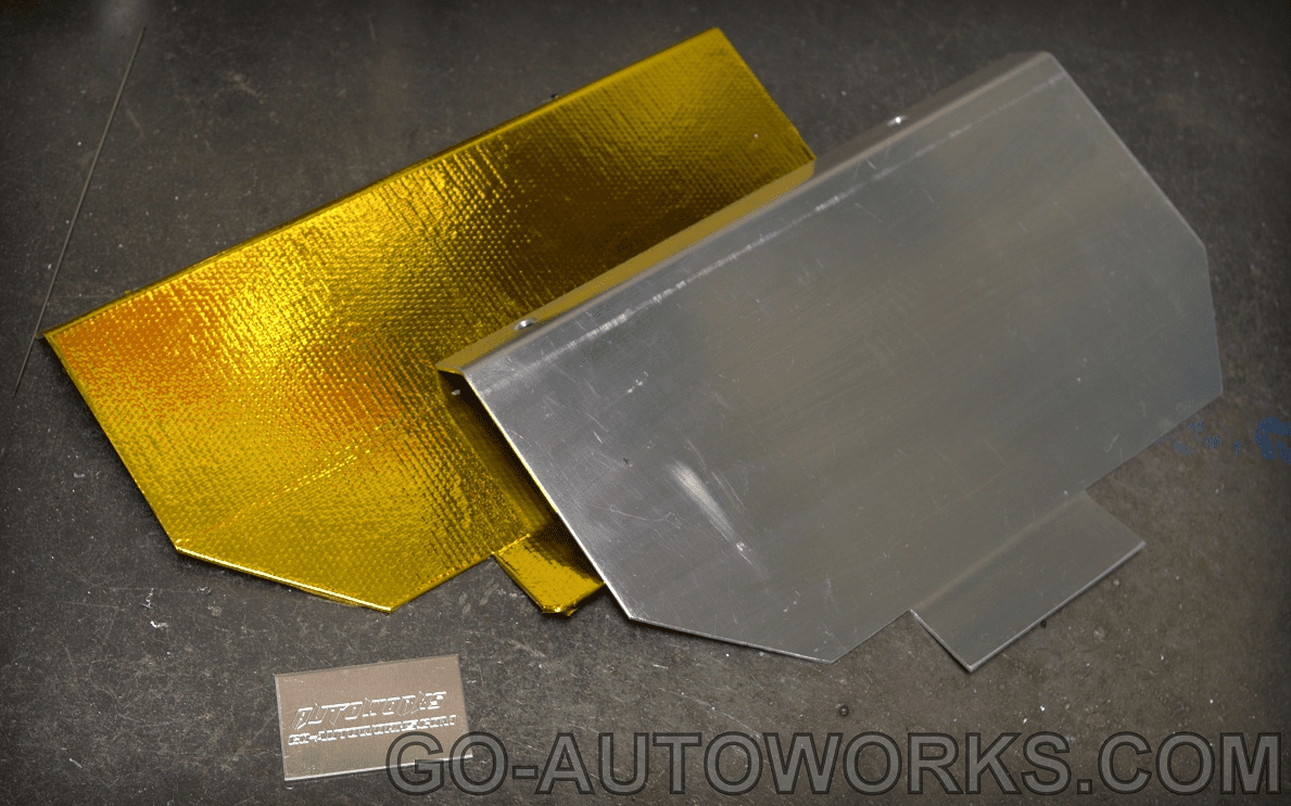 Mazdaspeed 3 Rear Firewall Heatshield 2007-2009