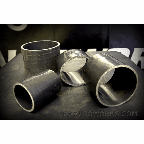 Multi Ply Reinforced Silicone Straight Couplers