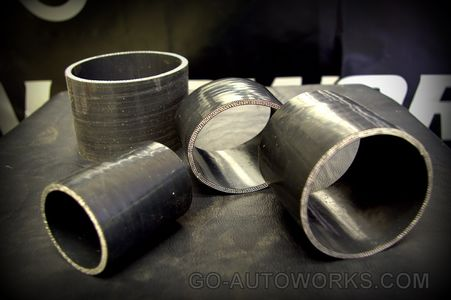 Multi Ply Reinforced Straight Silicone Turbo Couplers