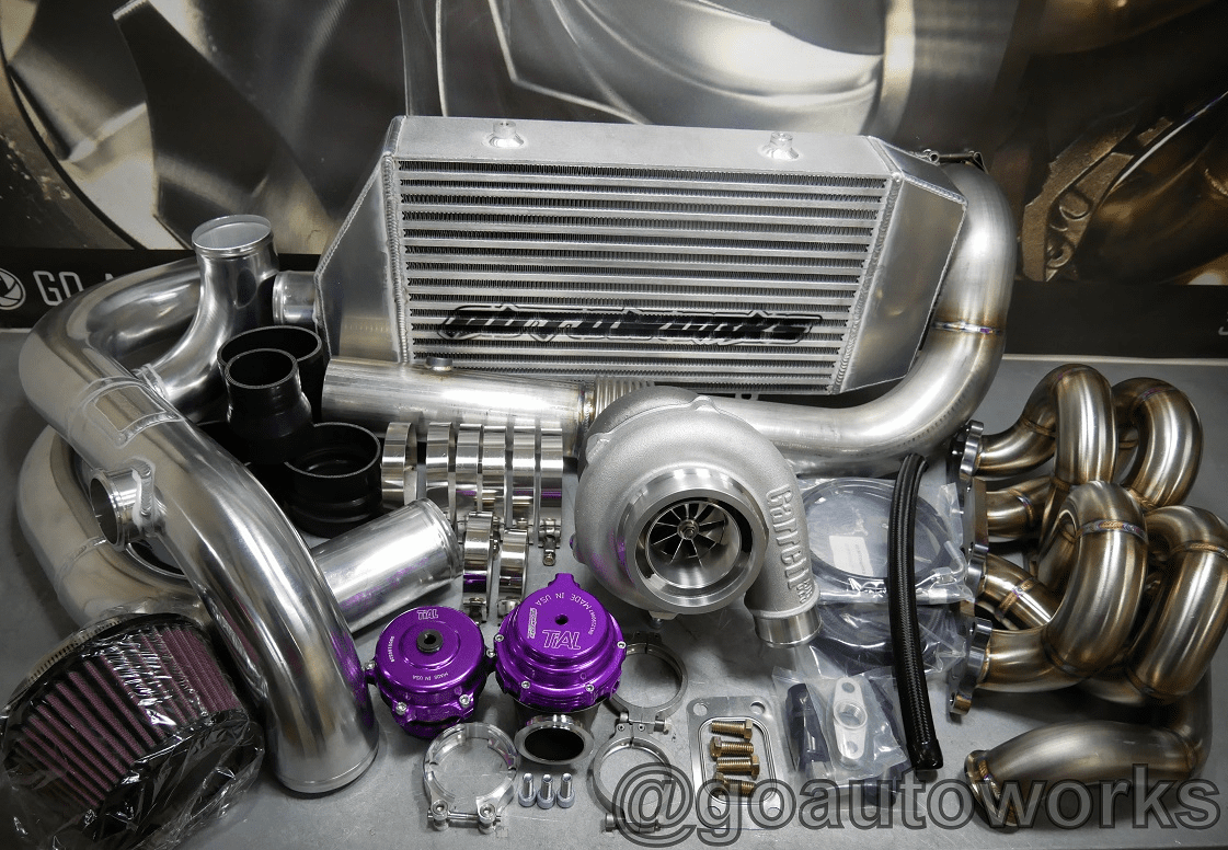 New GO-AUTOWORKS P-X700 Ball Bearing Turbo Kit