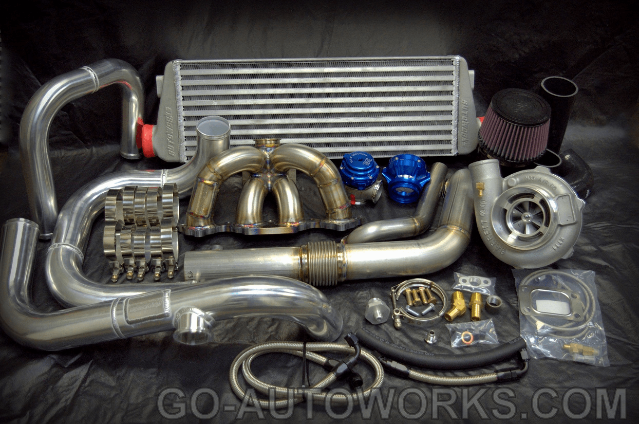 NEW GO-AUTOWORKS R-X600 Ball Bearing Turbo Kit