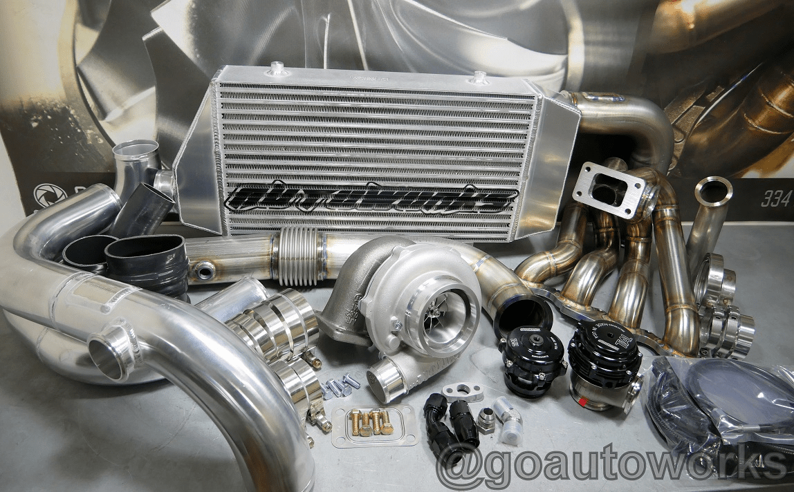 NEW GO-AUTOWORKS TM-X800 Ball Bearing Turbo Kit