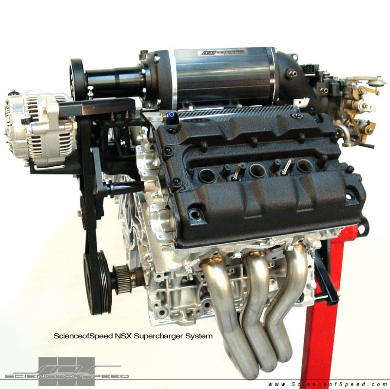 ScienceofSpeed Supercharger System - NSX, 1995-96