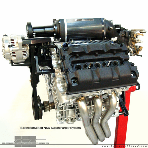 ScienceofSpeed Supercharger System - NSX, 1997-2005