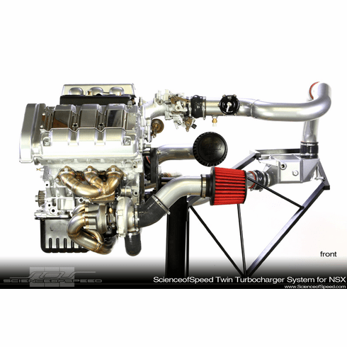 ScienceofSpeed Twin Turbocharger System for NSX - NSX, 1991-94