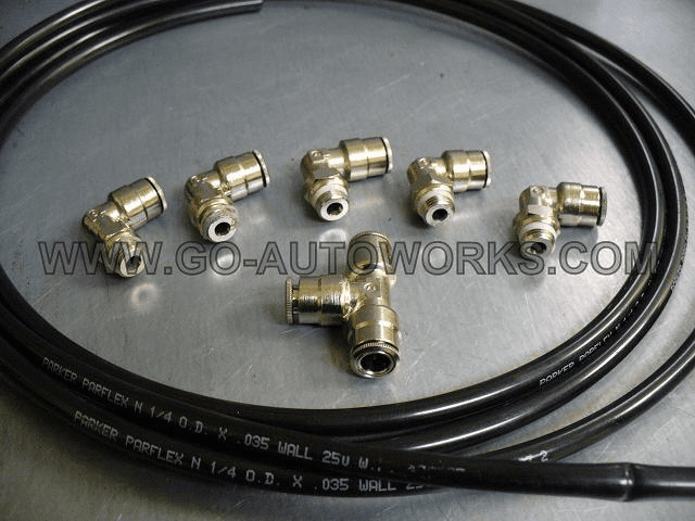 Single wastegate EBC kit