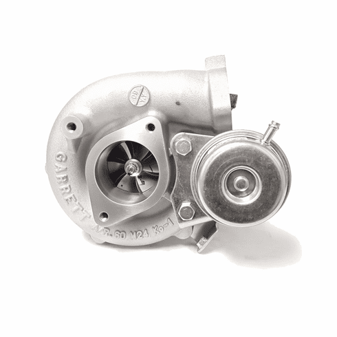 Turbocharger, Garrett GT2560R, 3 Bolt Out/ 2 Bolt In Comp Hsg, .64 A/R Stainless V-band Turbine Hsg.