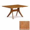 """Copeland Furniture - Audrey 40"""" X 60"""" Fixed Top Table in Natural Cherry - 6-AUD-06-03"""