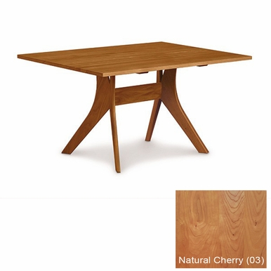 """Copeland Furniture - Audrey 40"""" X 72"""" Fixed Top Table in Natural Cherry - 6-AUD-10-03"""