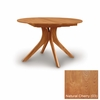 """Copeland Furniture - Audrey 48"""" Round Extension Table in Natural Cherry - 6-ARE-48-03"""
