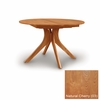 """Copeland Furniture - Audrey 54"""" Round Extension Table in Natural Cherry - 6-ARE-54-03"""