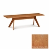 """Copeland Furniture - Audrey 60"""" Bench in Natural Cherry - 8-AUD-06-03"""