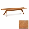 """Copeland Furniture - Audrey 72"""" Bench in Natural Cherry - 8-AUD-10-03"""