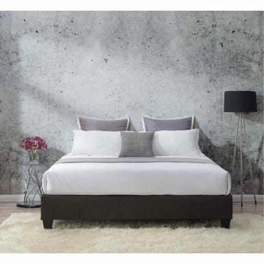 Picket House Furnishings - Abby King Platform Bed in Charcoal - UBB090KBBO