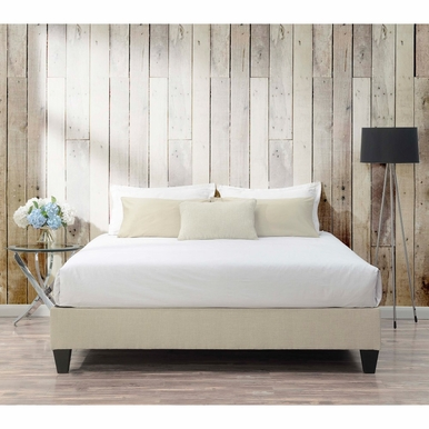 Picket House Furnishings - Abby King Platform Bed in Natural - UBB082KBBO