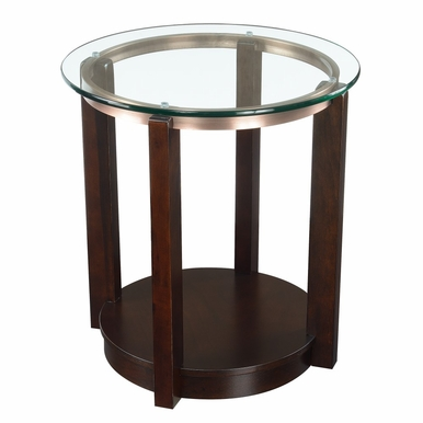Picket House Furnishings - Benton End Table in Espresso - CEL100ETE