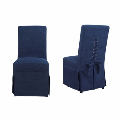 Picket House Furnishings - Hayden Parsons Dining Chair Set of 2 in Blue - UHI080102