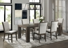 Picket House Furnishings - Jasper 7PC Dining Set-Table & Six Upholstered Side Chairs - DGD1007PC