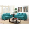 Picket House Furnishings - Mauldin Sofa & Loveseat in Teal - UMO087SL2PC