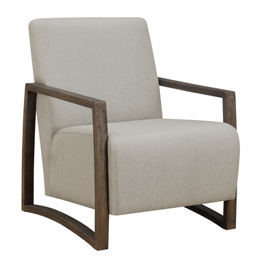 Picket House Furnishings - Maverick Accent Chair in Linen - UFM1441100E