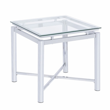 Picket House Furnishings - Monroe End Table in Clear - CSV100ETE