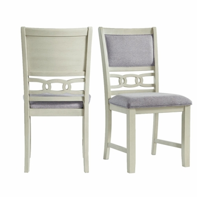 Picket House Furnishings - Taylor Standard Height Side Chair in Bisque (Set of 2) - DAH700SC