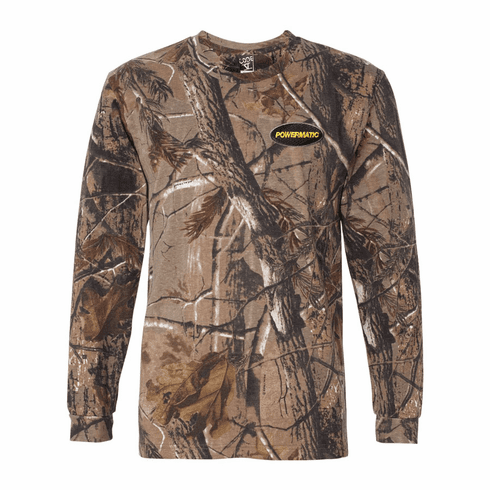CODE FIVE REALTREE CAMO LONG SLEEVE TEE