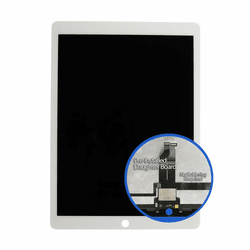 iPad Pro 12.9 (2015) LCD & Touch Screen Digitizer Assembly Replacement - White with Daughter Board