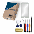 iPhone 6s Plus Repair Kit with Glass Screen Replacement + Tools + Video Guide - White