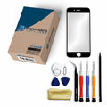 iPhone 6s Repair Kit with Glass Screen Replacement + Tools + Video Guide - Black