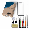 iPhone X Repair Kit with Glass Screen Replacement + Tools + Video Guide