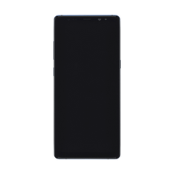 Samsung Galaxy Note 8 (N950) LCD and Touch Screen with Frame - Blue