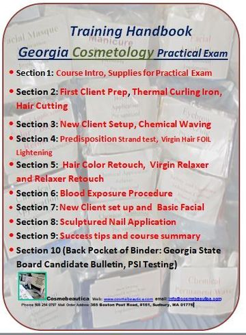 15th September, 2020:  Preparation for Successful State Board Beauty Industry Practical Exams: