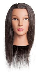 "AVA Human Hair Mannequin 20-22"" Level 4 Hair"