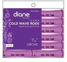 Diane Short Orchid Cold Wave Perm Rods