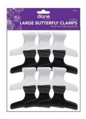 Diane #D13 Large Butterfly Clips